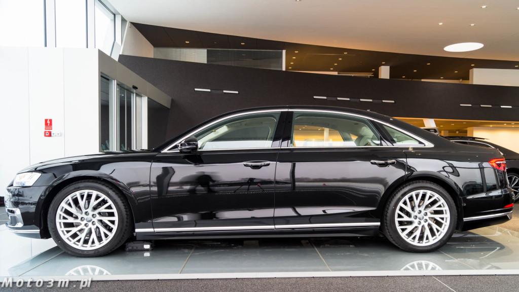 Nowe Audi A8 D5 w Audi Centrum Gdańsk-02472