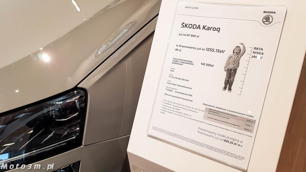 Skoda Karoq debiutuje w Trójmieście w Skoda Plichta-130618