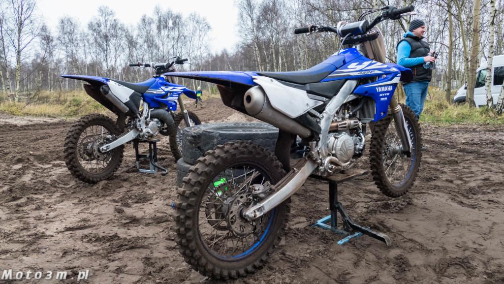 Testy motocykli crossowych Yamaha serii YZ na torze w Gdańsku-1670158