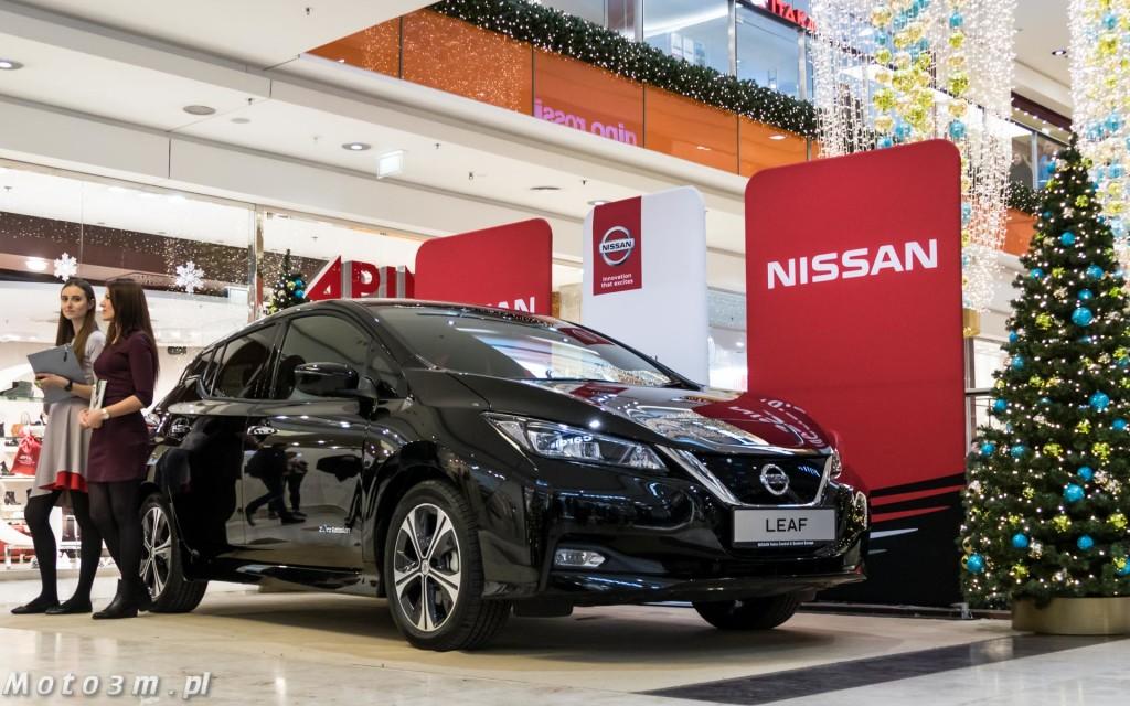 Nowy Nissan Leaf przedpremierowo zaprezentownay przez Zdunek KMJ w Galerii Bałtyckiej-1670526