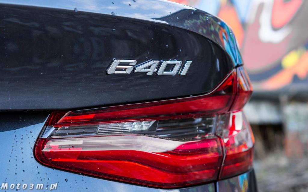 BMW 640i GT - test Moto3m-03933