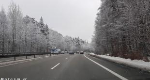 Droga, ulica, śnieg zaśnieżona jezdnia, zima-123000