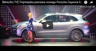 Premiera Porsche Cayenne E3 - Stary Maneż
