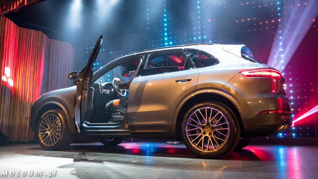 Trójmiejska premiera nowego Porsche Cayenne III generacji Stary Maneż 11-01-2018-1690055