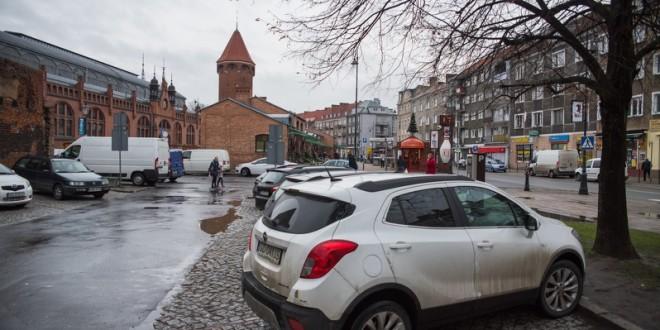 Gdańsk. Parking ul. Lawendowa. Fot. Dominik Paszliński/www.gdansk.pl