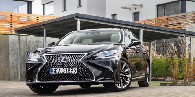 Lexus LS500h  - test Moto3m-03982