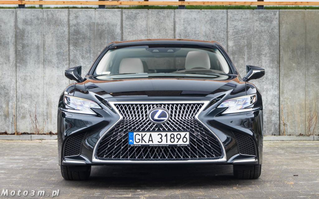 Lexus LS500h  - test Moto3m -03985