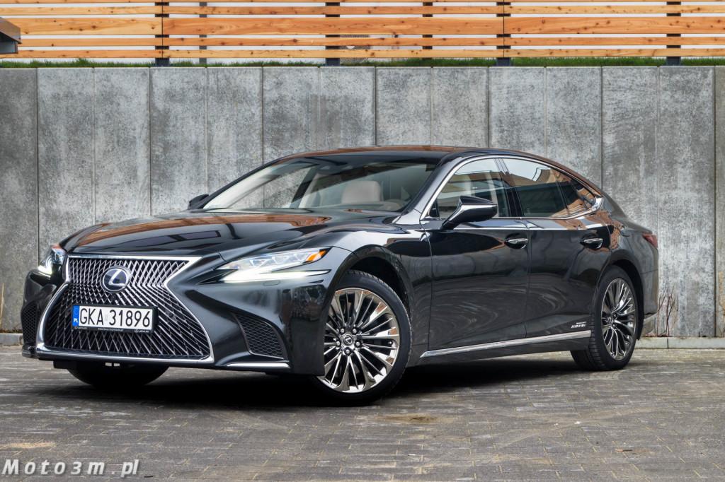 Lexus LS500h  - test Moto3m -03987