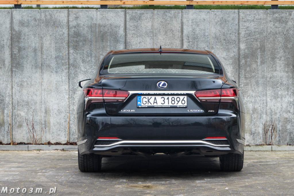 Lexus LS500h  - test Moto3m -03994