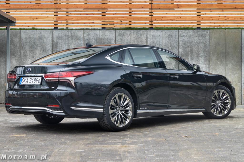 Lexus LS500h  - test Moto3m -03995