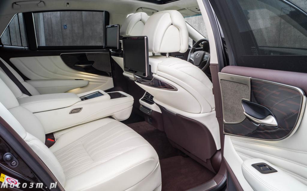 Lexus LS500h  - test Moto3m -03997