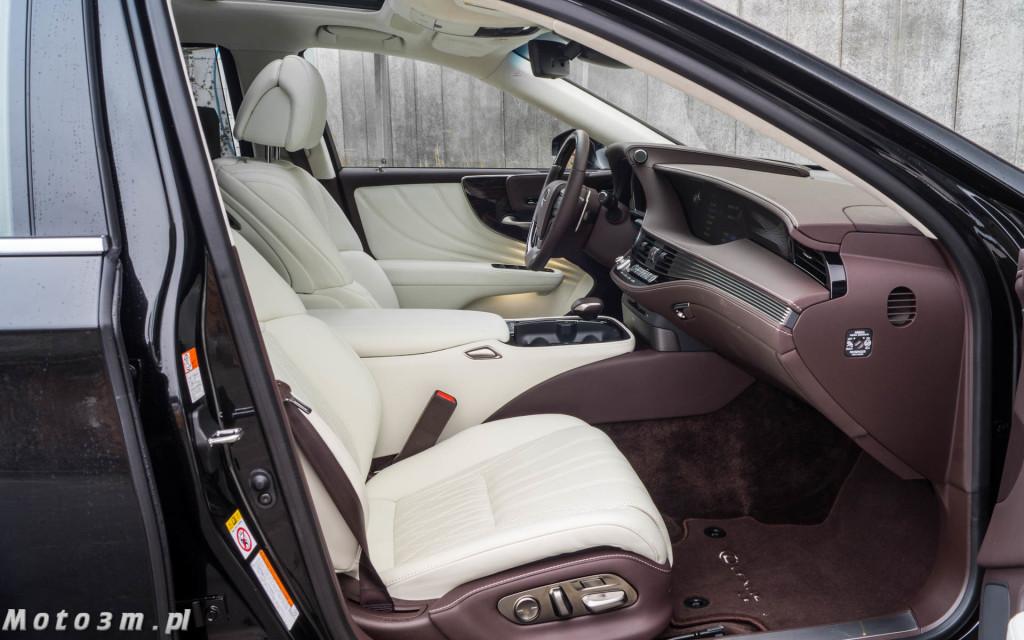 Lexus LS500h  - test Moto3m -03999