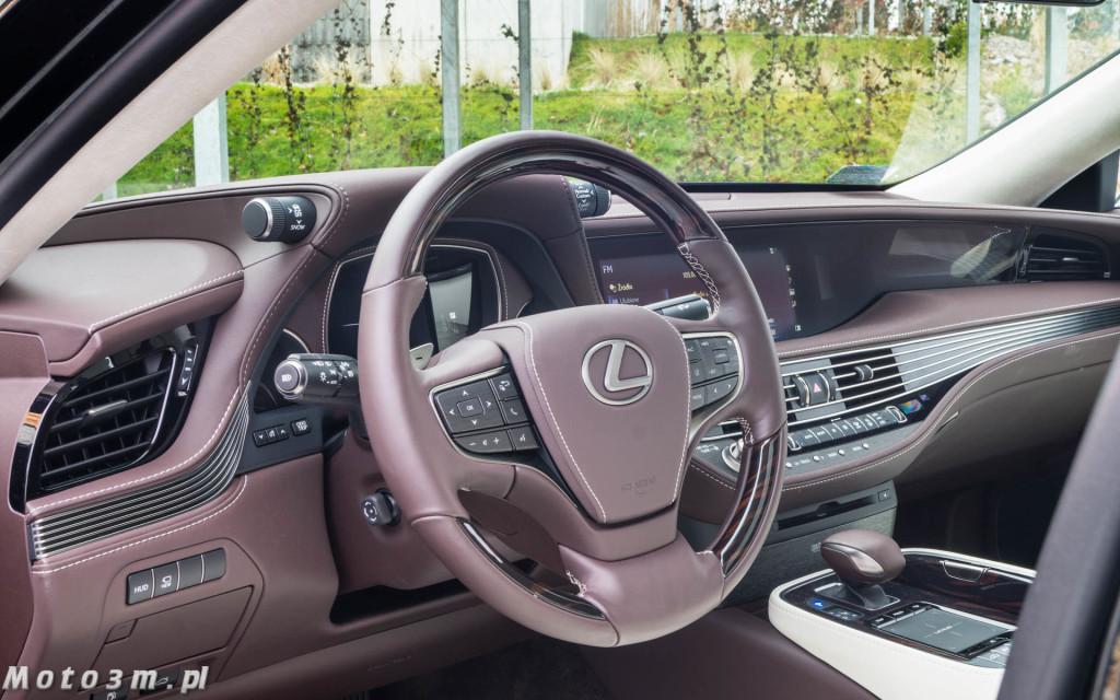 Lexus LS500h  - test Moto3m -04000