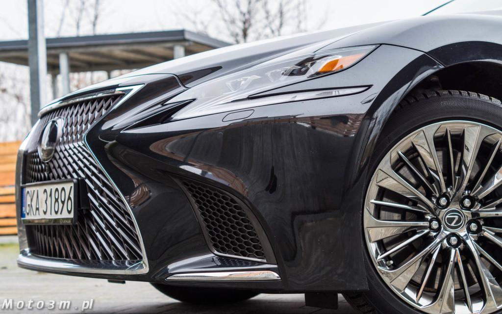 Lexus LS500h  - test Moto3m -04017