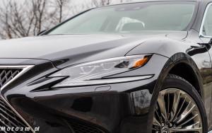 Lexus LS500h  - test Moto3m -04018