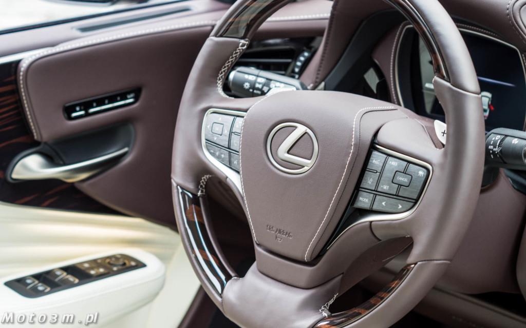 Lexus LS500h  - test Moto3m -04019