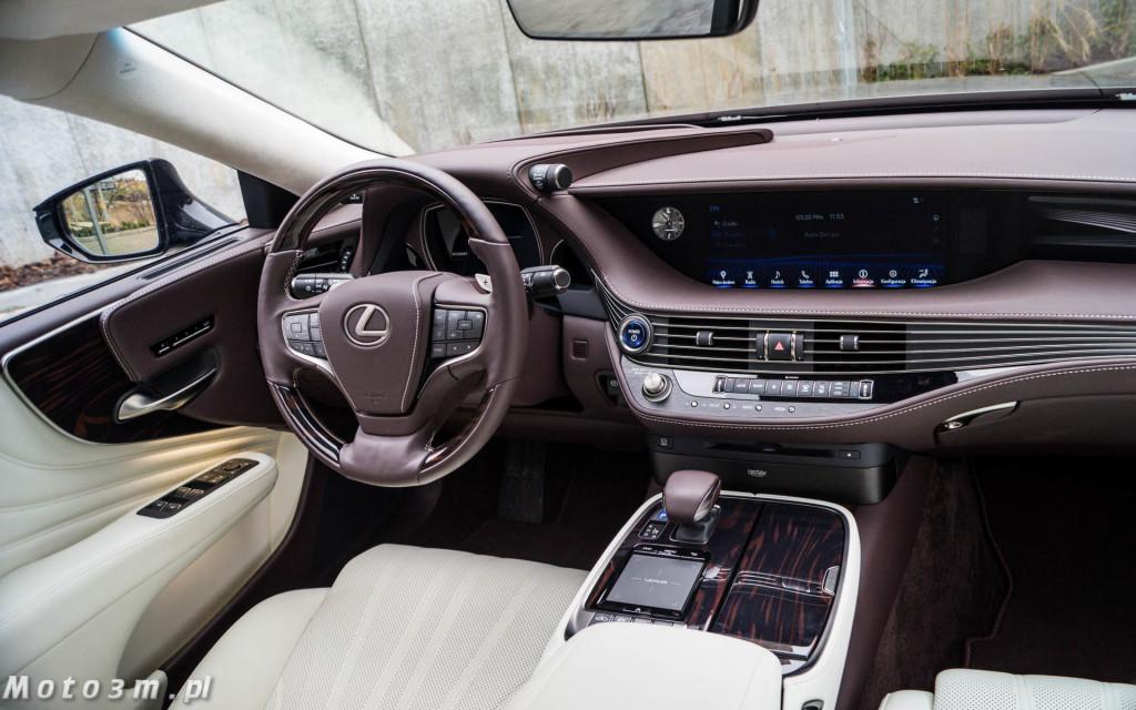 Lexus LS500h  - test Moto3m -04035