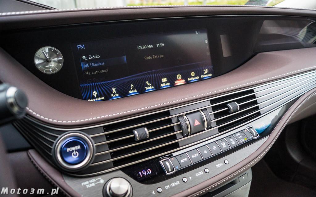 Lexus LS500h  - test Moto3m -04044