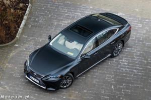 Lexus LS500h  - test Moto3m -04053