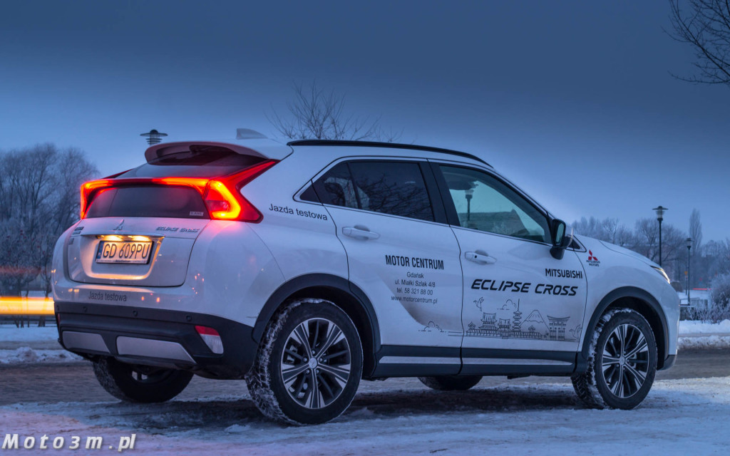 Mitsubishi Eclipse Cross - test moto3m-04307