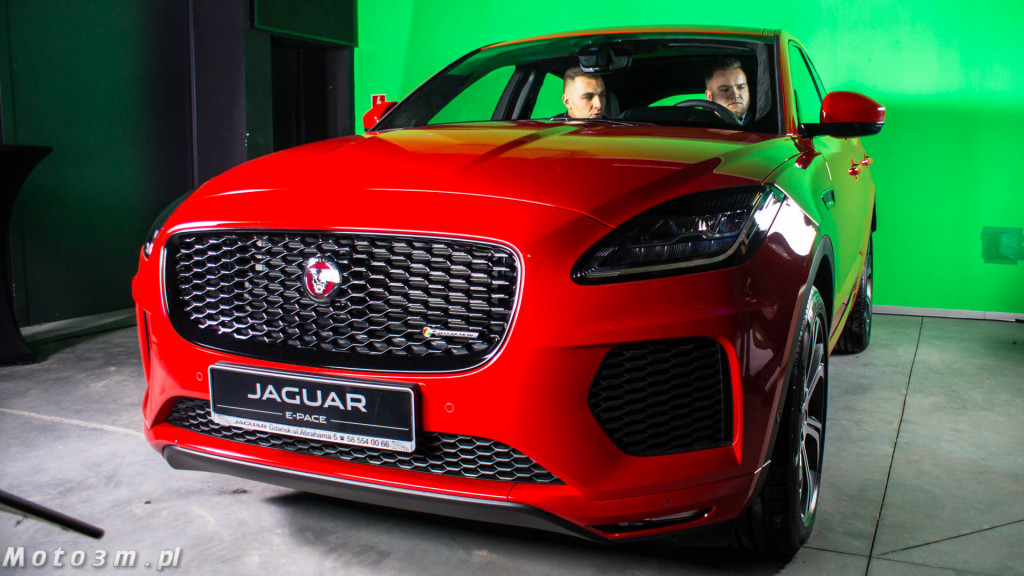 Premiera Jaguara E Pace w studiu Panika w Gdyni z British Automotive Gdańsk-04488