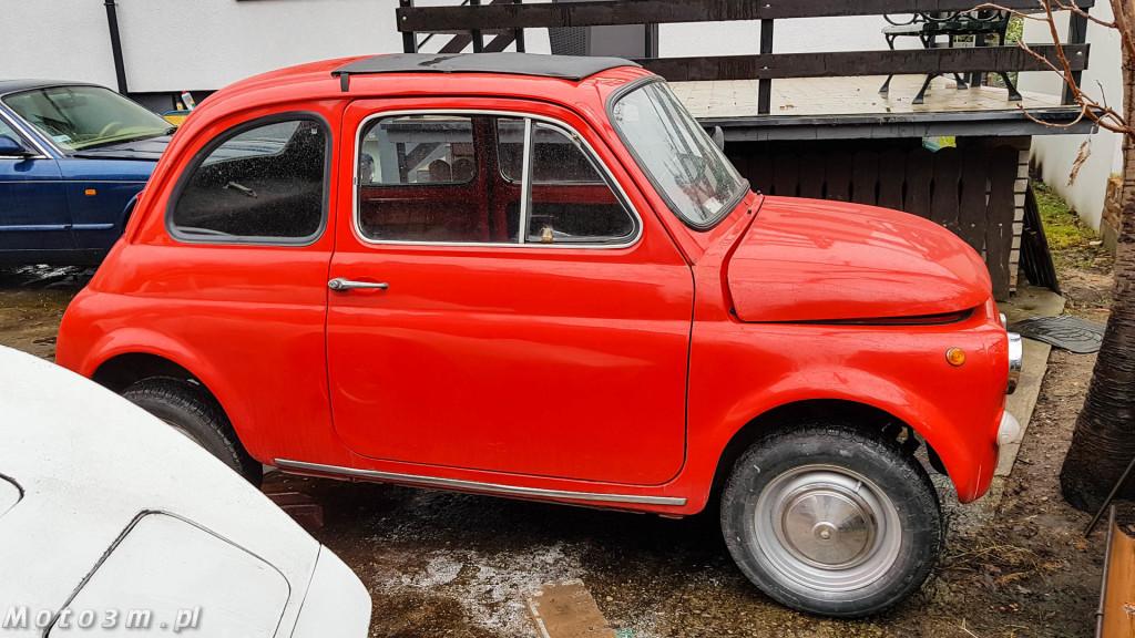 Klasyczny spalinowy Fiat 550 przerobiony na elektryka-140014