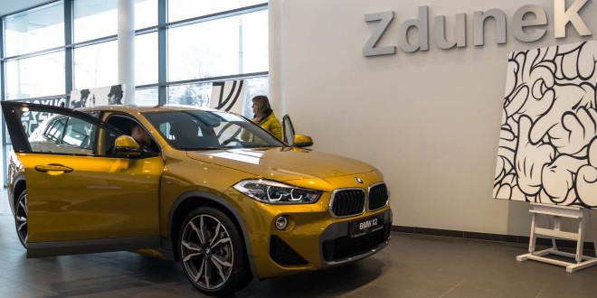 Premiera nowego BMW X2 w BMW Zdunek w Gdyni -04741