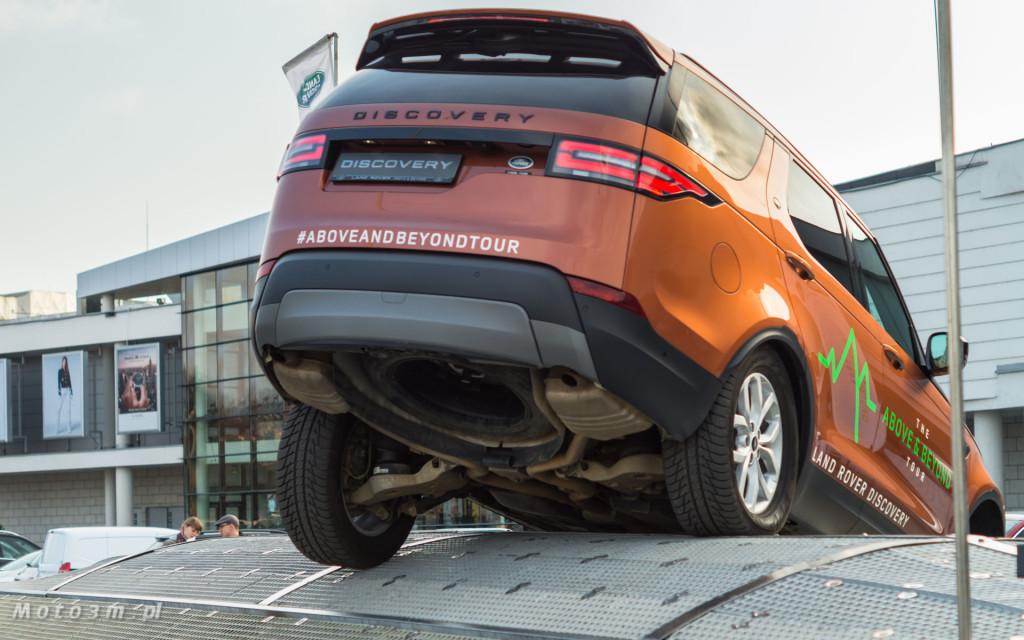 Land Rover - The Above & Beyond Tour 2018 z British Automotive Gdańsk -06707