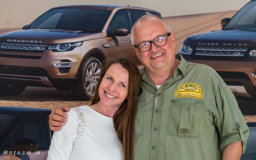 Katarzyna Zblewska z British Automotive Gdańsk i Sławomir Makaruk, polska legenda Camel Trophy