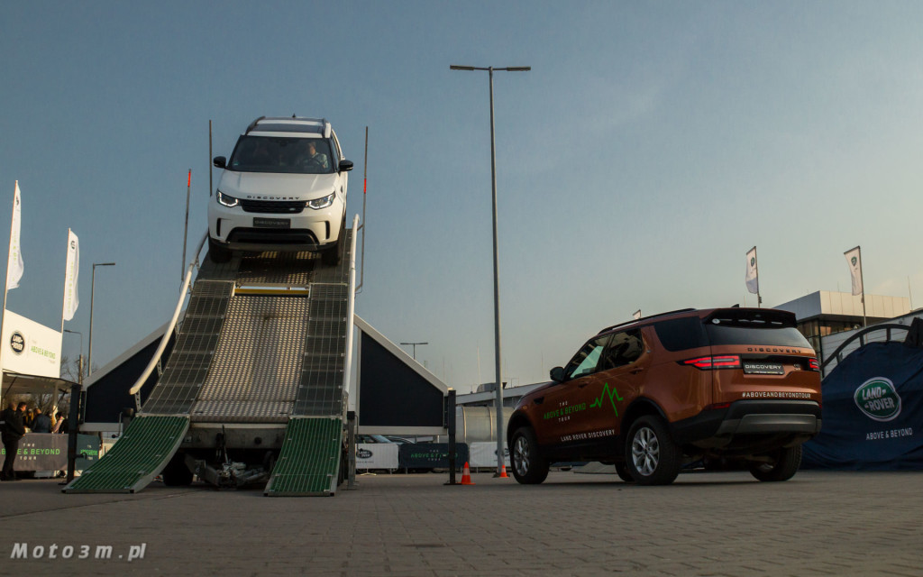 Land Rover - The Above & Beyond Tour 2018 z British Automotive Gdańsk -06775