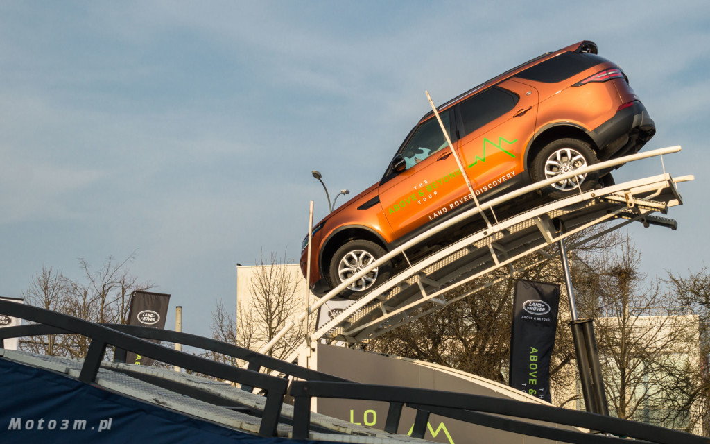 Land Rover - The Above & Beyond Tour 2018 z British Automotive Gdańsk -06784