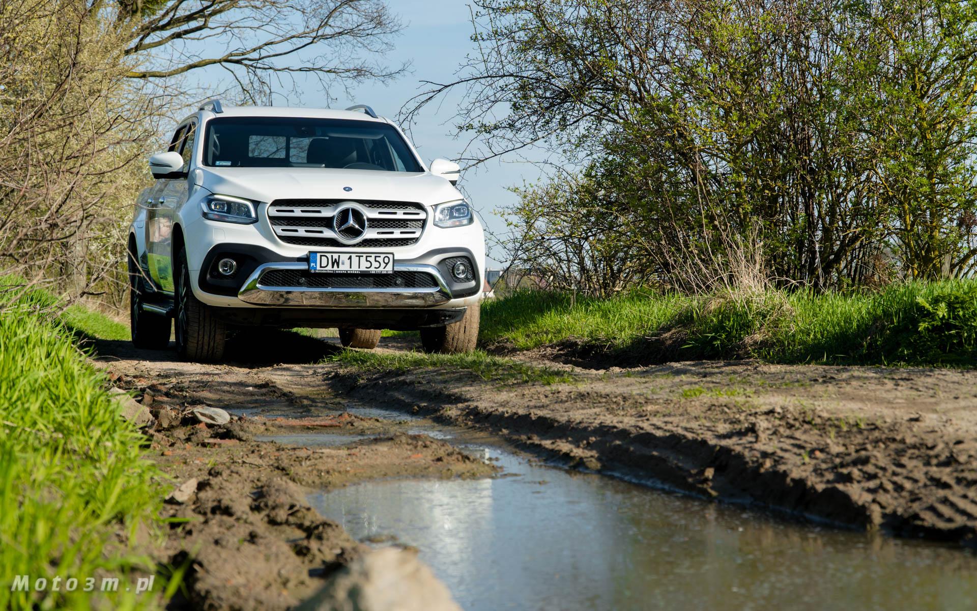 Mercedes Benz Klasy X – pick up Nissana z gwiazdą na masce