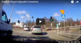 Wypadek na granicy Gdańska i Sopotu