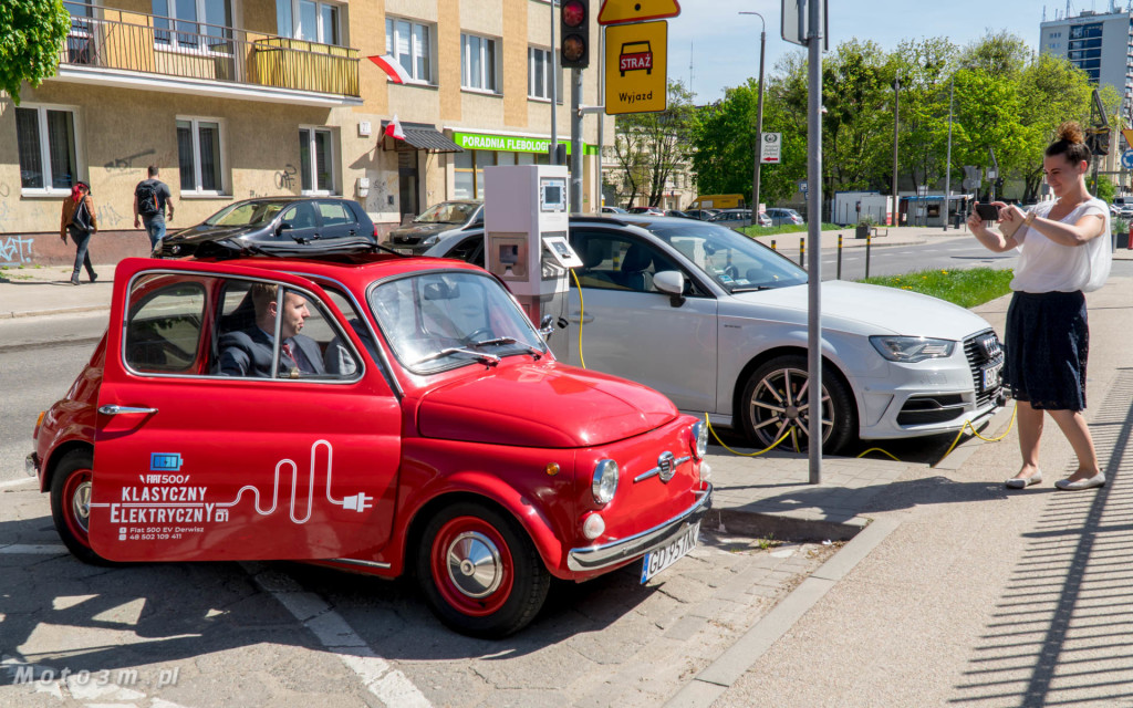 Klasyczny i elektryczny - Fiat 500 EV Derwisz już na drodze-1060