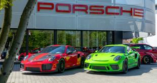 Porsche GT2 RS 991.2, GT3 RS 991.1 oraz 991.2  w Porsche Approved Sopot-1322