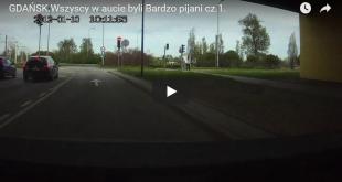 Wypadek Gdańsk - pijani