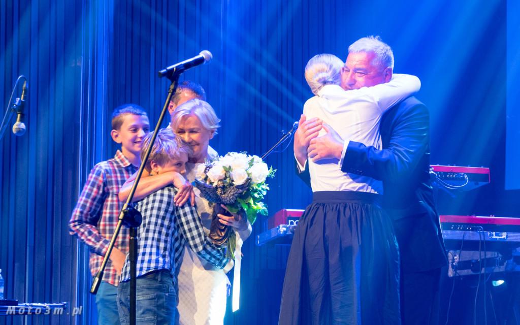 Tadeusz Zdunek z rodziną