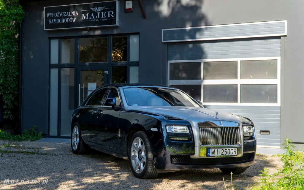 Rolls-Royce Ghost z wypożyczalnie Majer w Sopocie -2991