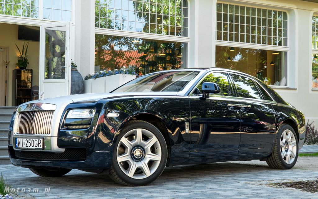 Rolls-Royce Ghost z wypożyczalnie Majer w Sopocie -3005