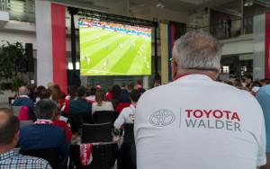 Strefa kibica w salonie Toyota Walder w Chwaszczynie-5545