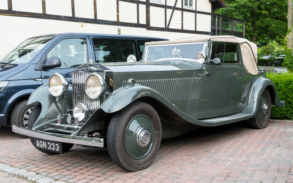 Zabytkowe Rolls-Royce'y odwiedziły Gdańsk 20-Ghost Club-5370