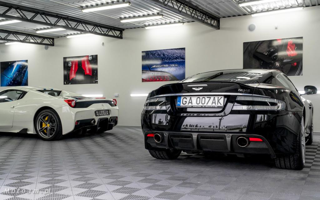 Ferrari 458 SAperta i Aston Martin DBS w Car SPA Gdynia-5945