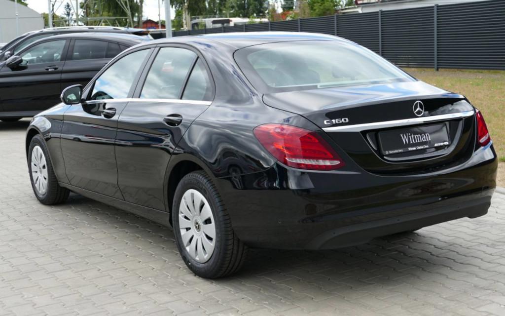 Mercedes Klas C w wydaniu Fleet Edition C160 5-