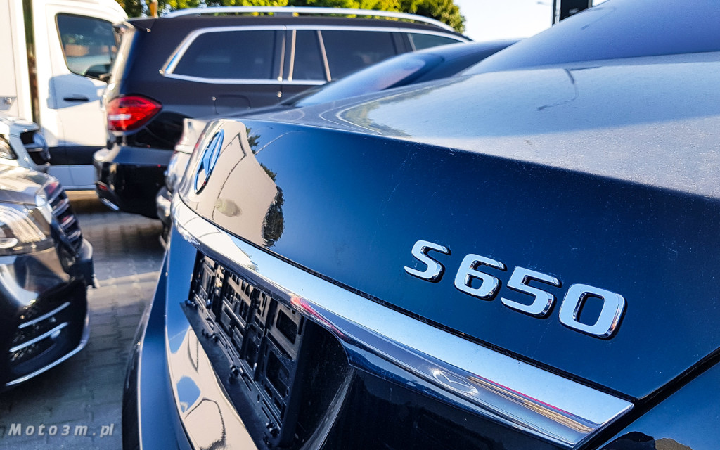 Nowości od Mercedesa w Trójmieście - Nowa Klasa G, E53 AMG i Maybach S650-191217