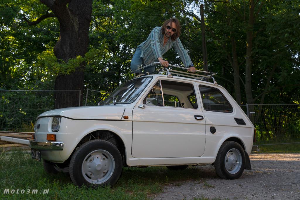 Krzysztof Jaryczewski z Oddziału Zamkniętego i Fiat 126p - Moto3m.pl-6049