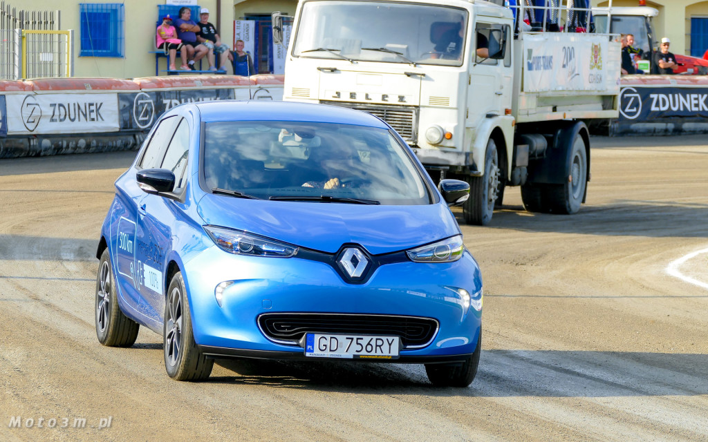 Nowe Renault ZOE - deboiut podczas meczu żużlowego GKS Wybrzeże-1770833