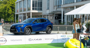 Pprzedpremierowo - Lexus UX250h w Sopocie, podczas Sopot Open-07696