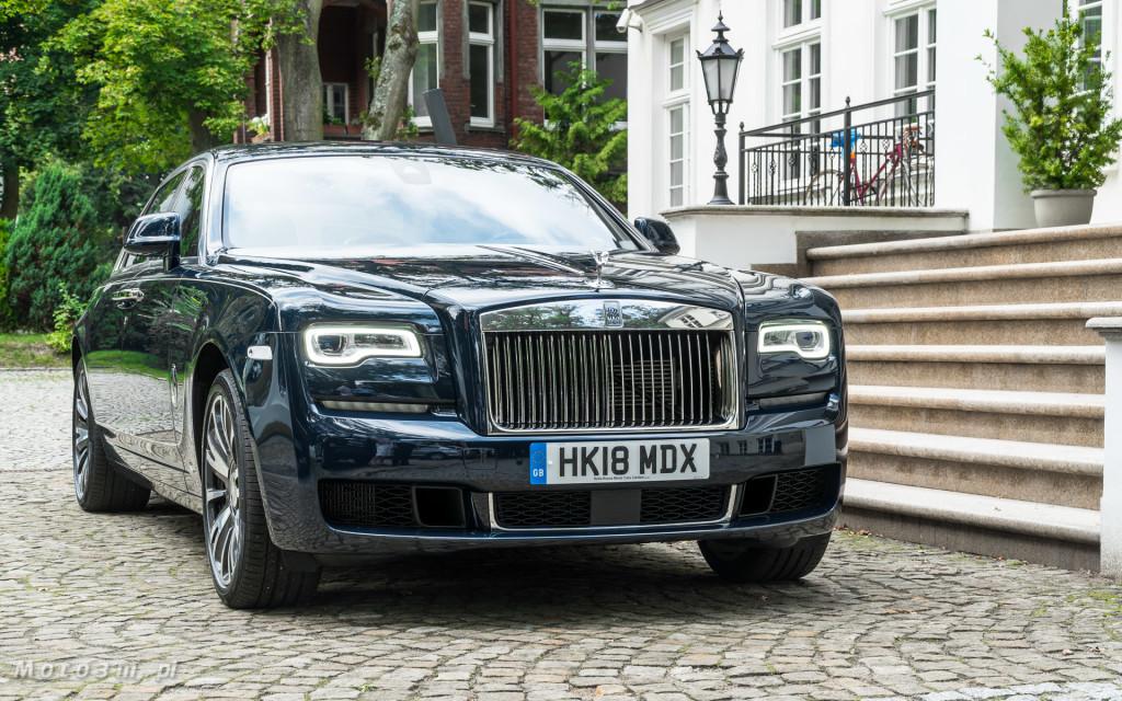 Rolls-Royce Ghost EWB Gdańsk - test Moto3m-07477