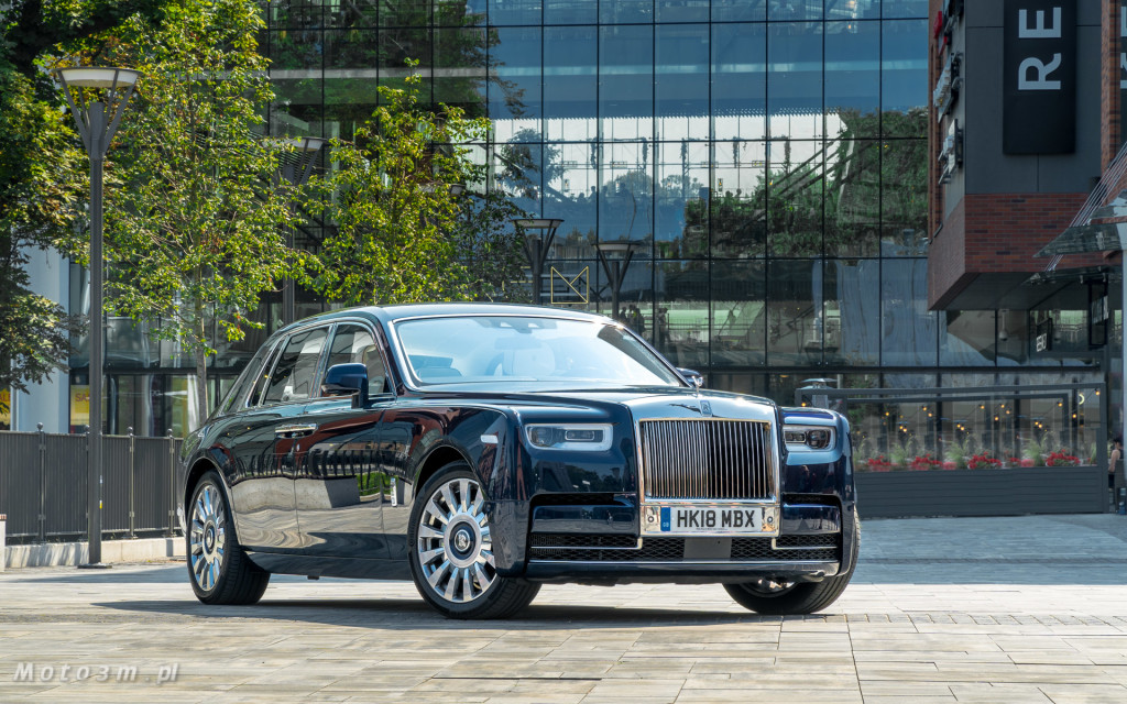 Rolls-Royce Phantom SWB Gdańsk - test Moto3m-