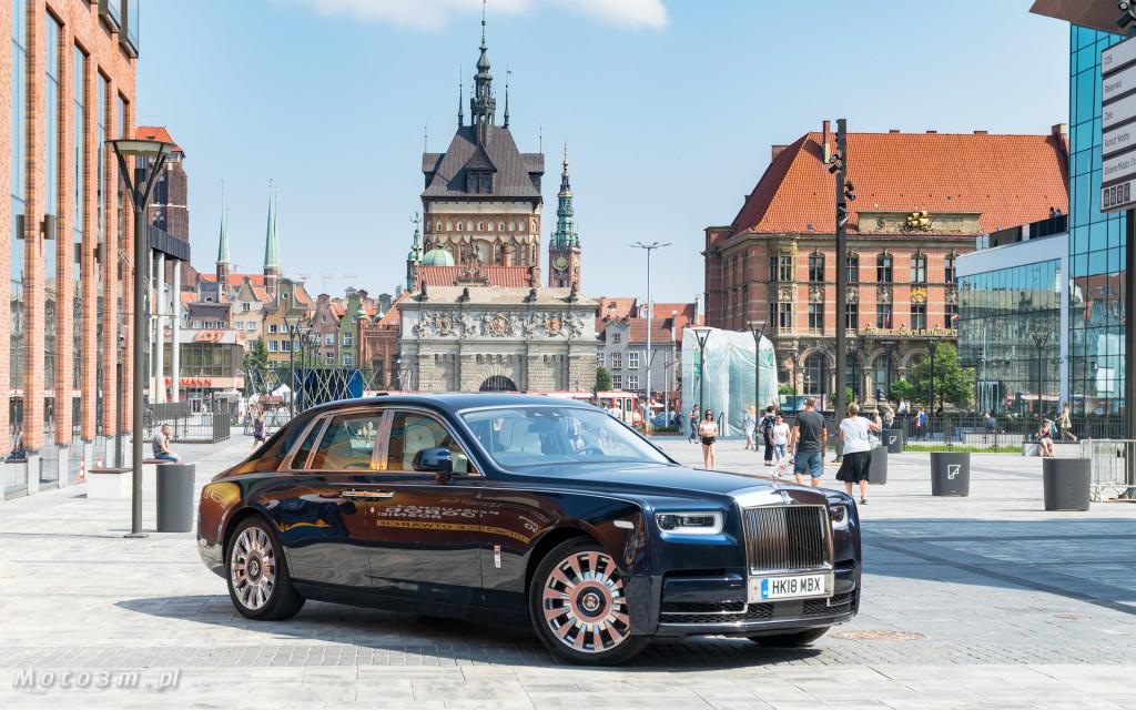 Rolls-Royce Phantom SWB Gdańsk - test Moto3m-07561